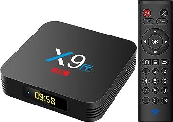 Promoción] Android TV Box -TICTID X9T Android 7.1 TV Box Amlogic S912 Octa-Core 2G+16G con 2.4G WiFi 1000M LAN Port BT 4.0 4K/2K H.265 Decodificación de Video Smart TV Box: Amazon.es: Electrónica