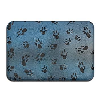 Dog Paw Prints Door Mats Outdoor Mats