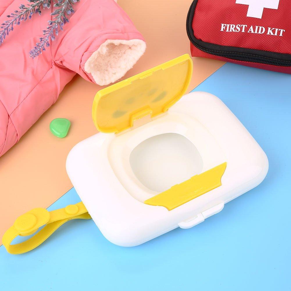1PCS Reutilizable Wet Wipe Pouch Viaje Wet Wipe Case Toallitas Dispensador Baby Eco Friendly Toallitas Bolsas wlgreatsp Baby Travel Wipe Case Box
