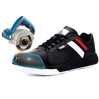 31a2f537 PEAK Winter Man Anti-Smashing Anti-Slipping Steel Toe Boots with Size 38-45