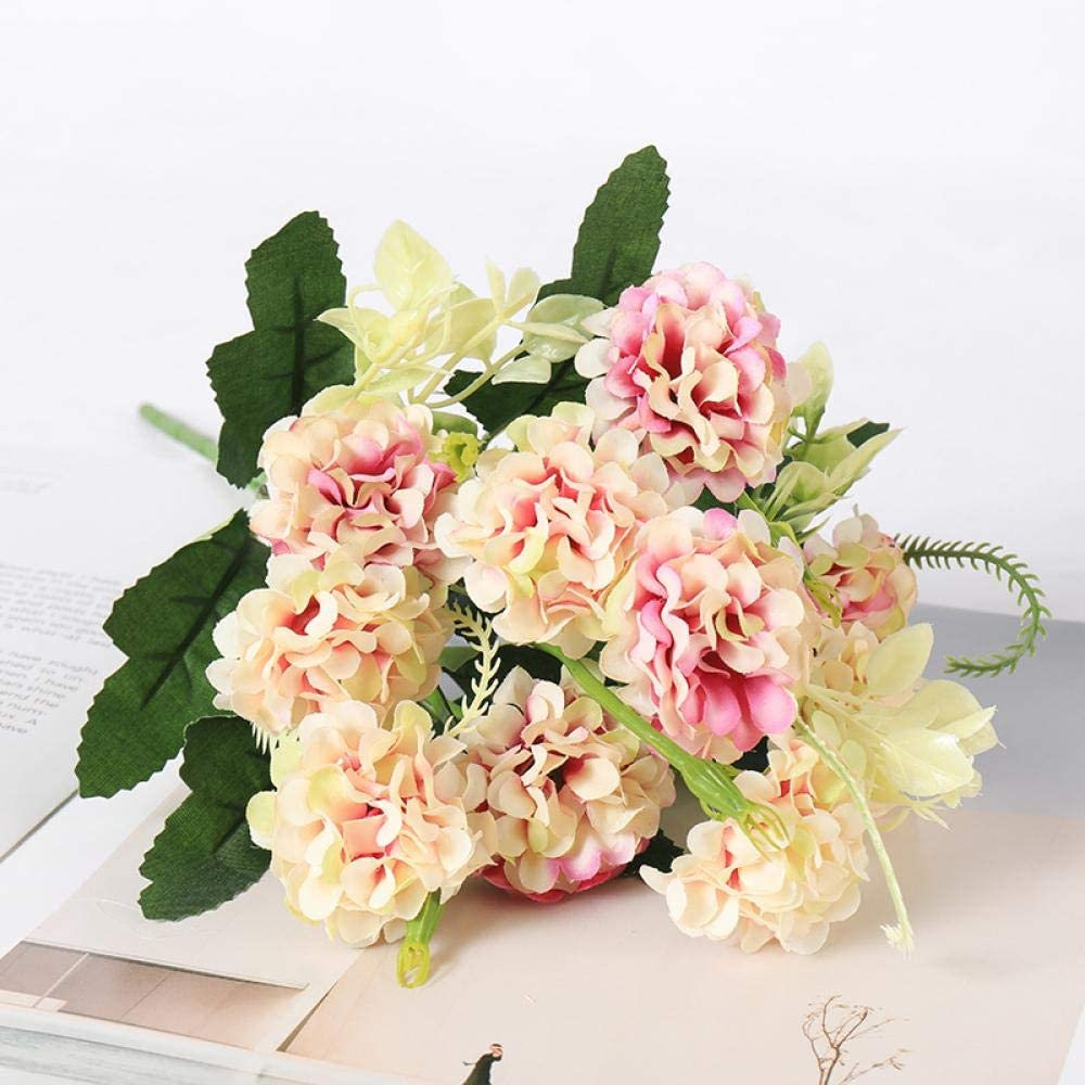 Flores Artificial CrisantemoFlores Artificiales RamaAcción De GraciasDecoraciónFlores De SedaCaseraspara La Fabricación DeTelaBelleza para Siempre