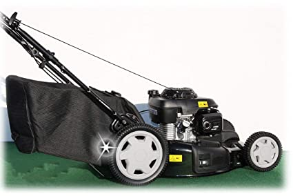 Cortacésped de gasolina con cesta CGV160, de Honda, 53 cm, transmisión variable,