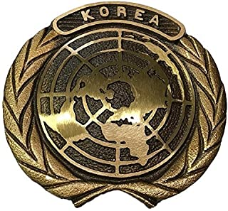 product image for Korean War Bronze Grave Marker with Brass Ground Stake