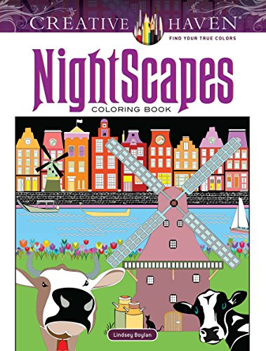 Search : Creative Haven NightScapes Coloring Book (Adult Coloring)