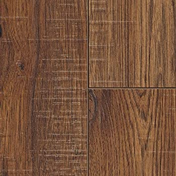 Amazon Com Distressed Brown Hickory 12 Mm X 6 26 In X 50