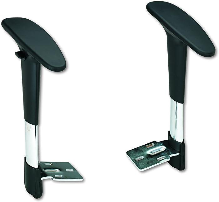 Safco Metro Adjustable Arm Kit, Black