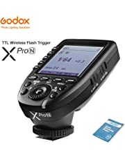 Godox XPro-N i-TTL 2.4G 2.4G Inalámbrico X Sistema Alta velocidad Flash Disparo con Grande LCD Pantalla Transmisor Para Nikon D5 D4 0300S D300 D500 D810 D3100 D3200 D5200 DSLR Cámaras