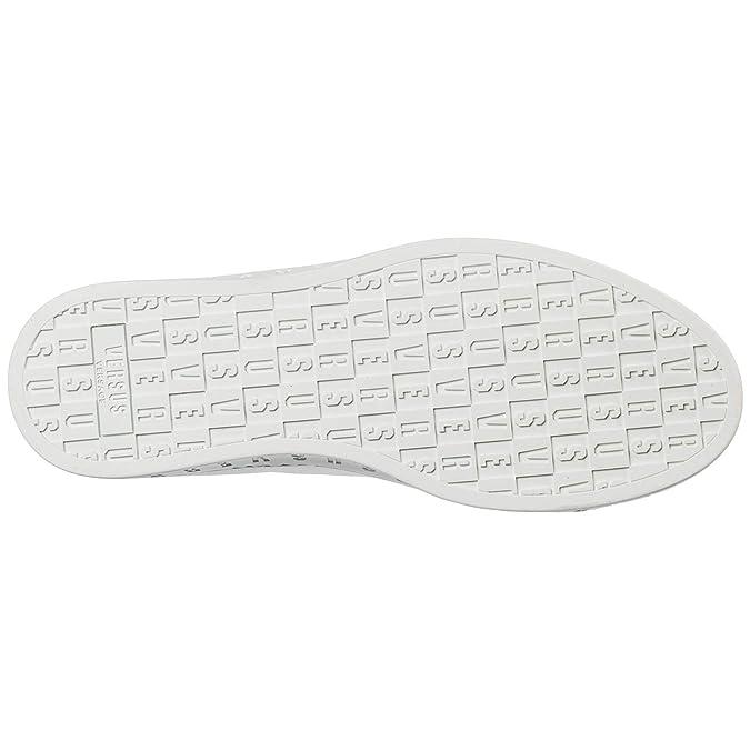 Versus Versace Sneakers Alte Lion Head Uomo Optic White