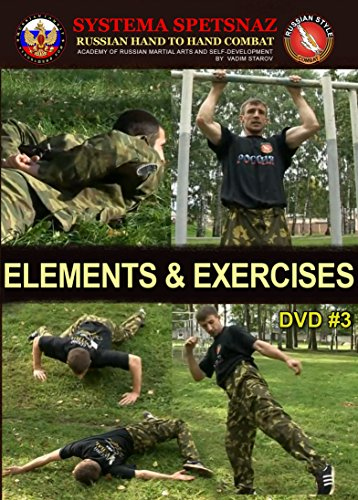 Russian Martial Arts DVD #3: Elements and Exercises for Hand To Hand Combat Street Self-Defense Training by Russian Systema Spetsnaz