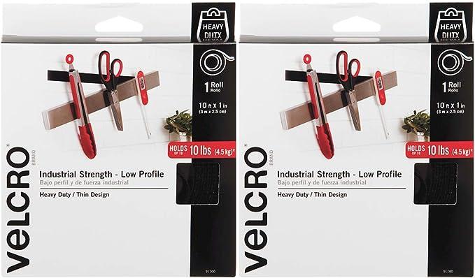 VELCRO ® marca Heavy Duty ultra-mate 25mm o 50mm Auto Adhesivo plazas o tiras