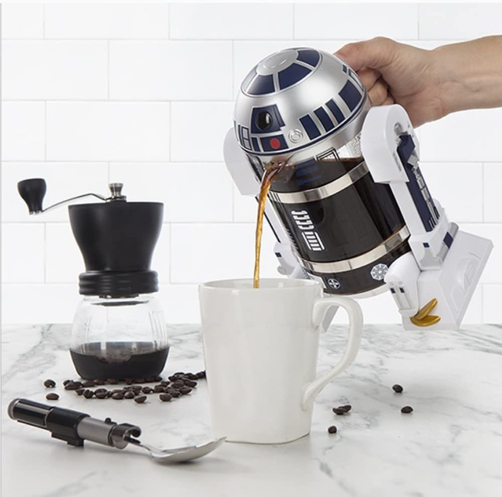 De R C de 2 C Star Wars R2-D2 Cafetera de émbolo pour over Jarra ...