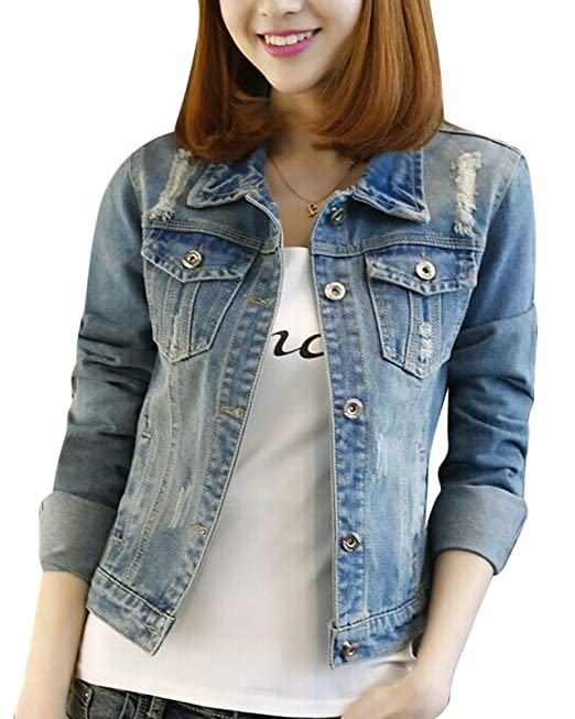 Giacca di jeans donna