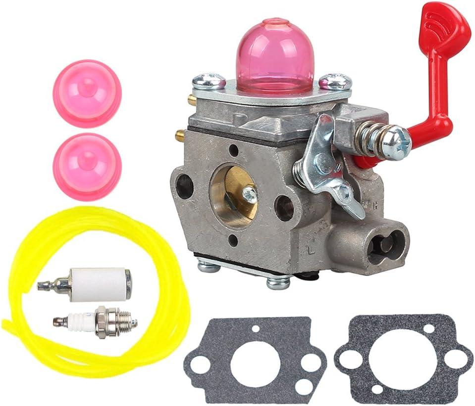 wt-875 carburador con combustible línea filtro Kit de Bujía Para ...