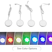 4-Pack Colorhome Under-Cabinet LED Puck Light