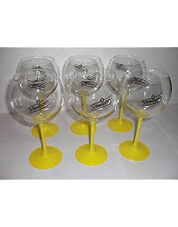 lot de 6 verres schweppes tubes neuf tres beau