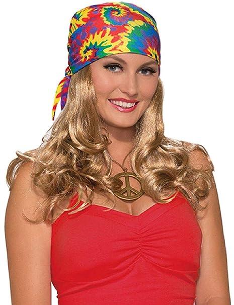Amazon.com: Hippie Generation 60s 70s - Bufanda para mujer ...