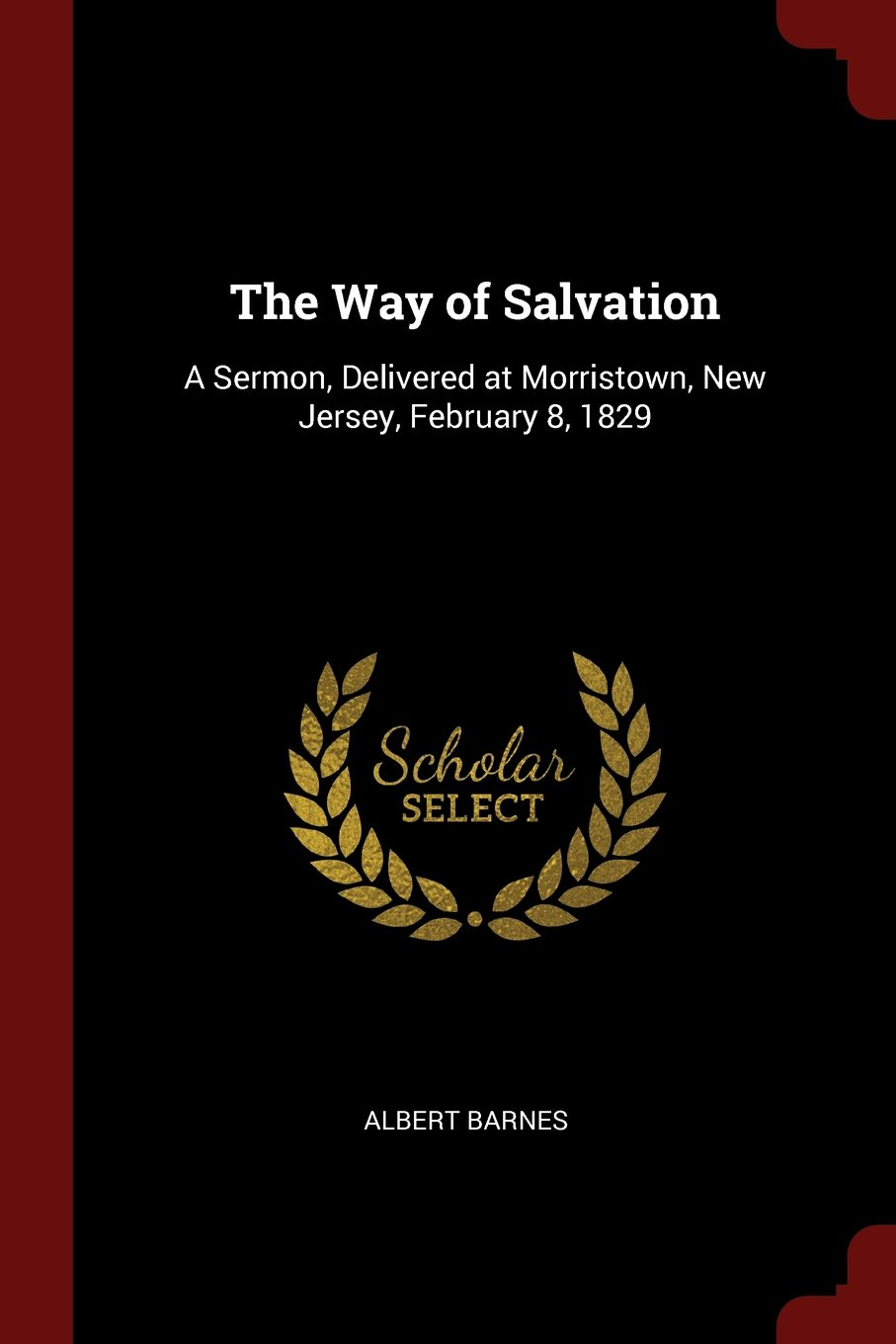 Download The Way of Salvation: A Sermon, Delivered at Morristown, New Jersey, February 8, 1829 ebook