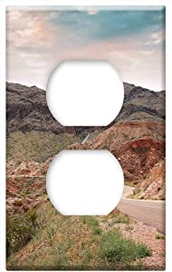 Hiking Hoover Dam Lake Mead Las Vegas Arizona Rock -Outlet Cover Switch Plate