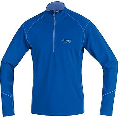 Gore Running Wear, Cálida Camiseta Térmica De Manga Larga para Correr para Hombre, Azul Eléctrico/Azul Cerúleo, S: Amazon.es: Deportes y aire libre
