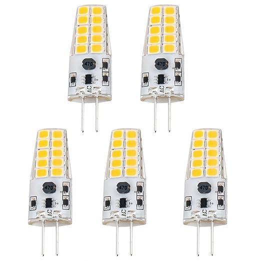 Lampadine Led G4 12v.Luxvista 3w G4 Led Capsule Light Bulb Warm White 3000k 12v Ac Dc 20w