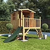 Mad Dash BillyOh Bunny Childrens Wooden Tower Playhouse Including Slide 4x4