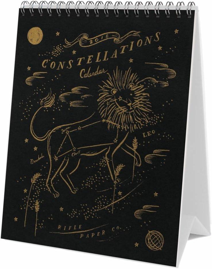 Rifle Paper Co 2018 Desk Calendar Constellations