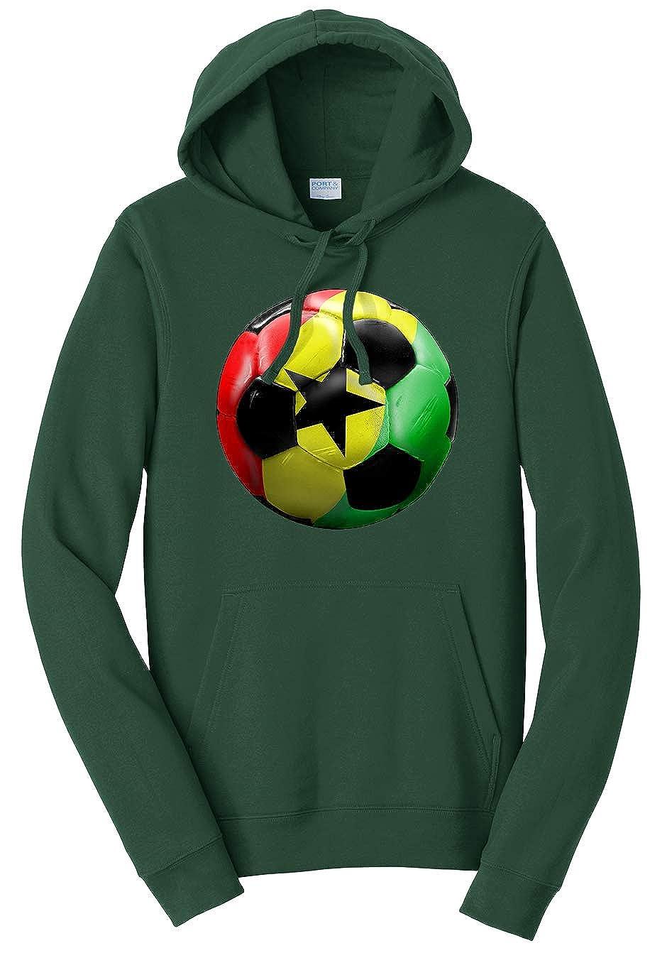 Tenacitee Unisex Ghana Soccer Sweatshirt