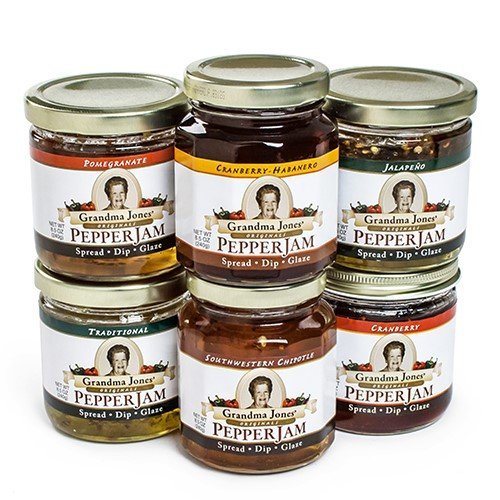 Grandma Jones' Pepper Jam - Cranberry-Habanero (8.5 ounce)
