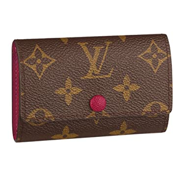 23525571bcf2 Image Unavailable. Image not available for. Color  Louis Vuitton Monogram  Canvas 6 Key Holder ...