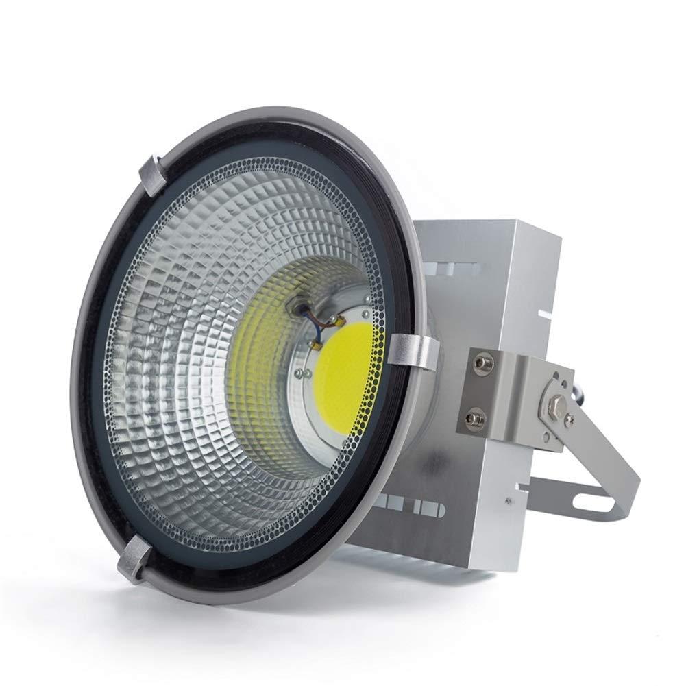Csndice Home LED Faretto Da Esterno,Mining Esterna Portatile Cantiere Di Costruzione Gru A Torre Spotlight IP65 66 (dimensioni   100W)