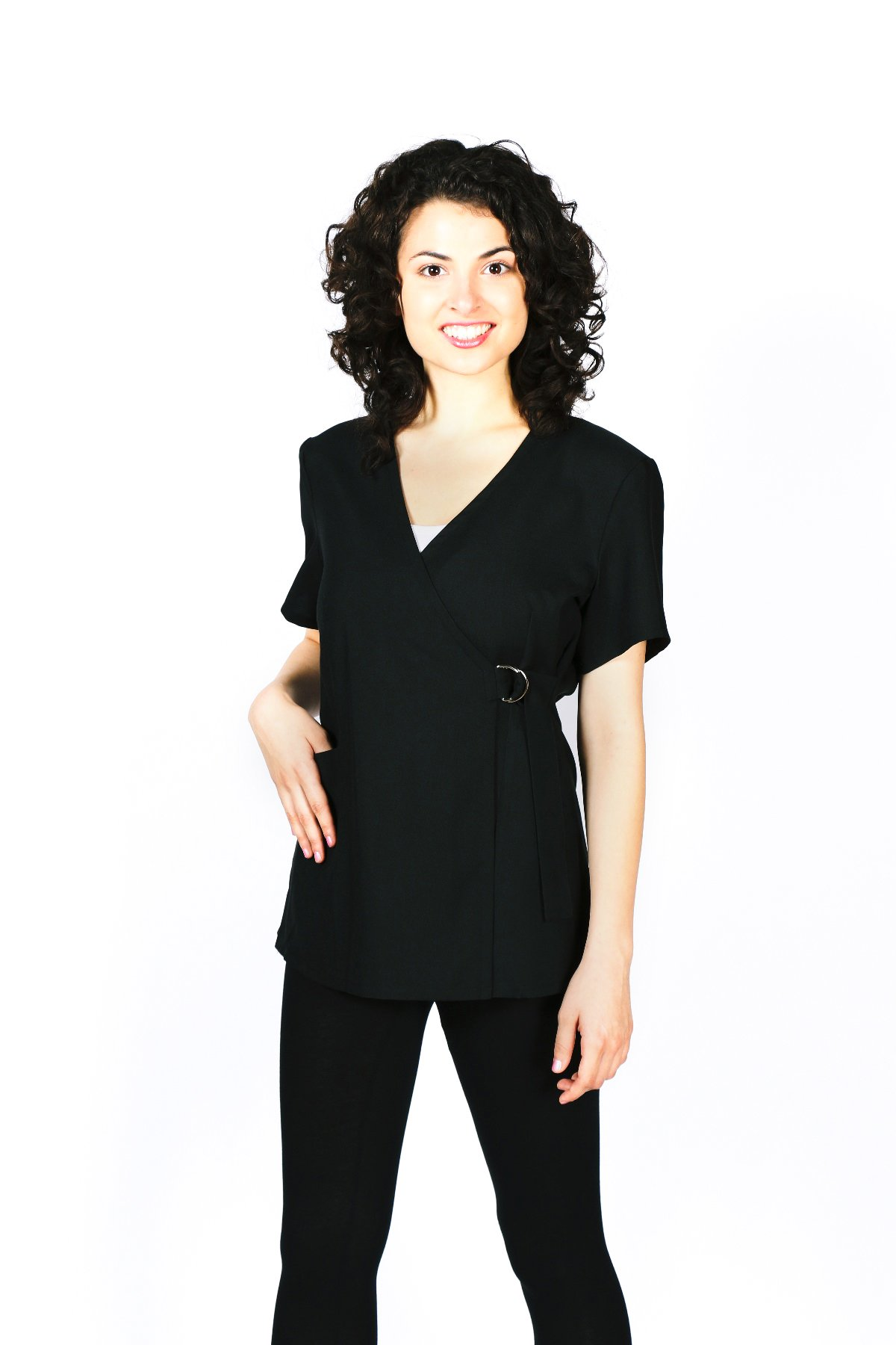 Smockers Pamela Professional Salon Smock Stylist Jacket Cosmetology Uniform