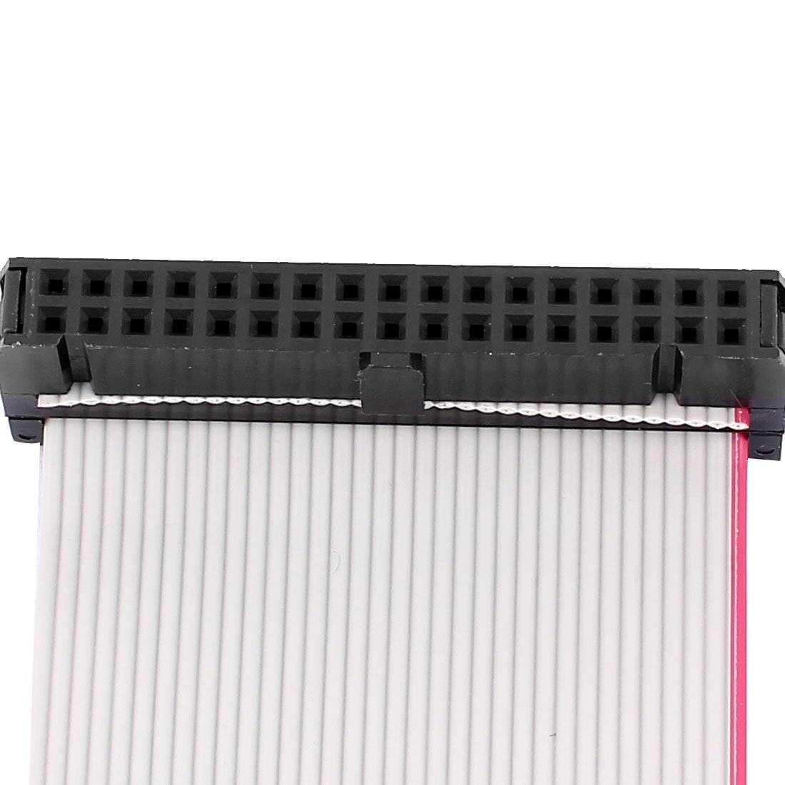 Female to Female uxcell IDC Extension Flat Ribbon Cable 34-Pin 34 Way 2.54 mm Pitch 66 cm Long