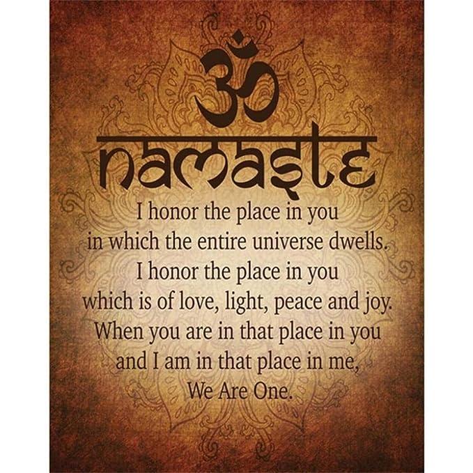 Rjjwai Cita De Yoga Espiritual Motivacional Budista Namaste ...