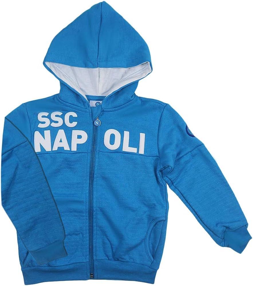 SSC Napoli Tuta Felpata con Cappuccio Ragazzo N90701