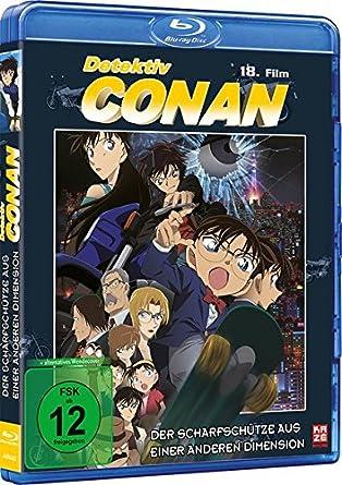 Amazon Com Detektiv Conan 18 Film Der Scharfschutze Aus Einer Anderen Dimension Blu Ray Movies Tv