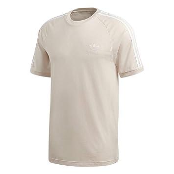 Adidas Camiseta con 3 Rayas para Hombre, año, Hombre, Color Lino, tamaño XX-Large: Amazon.es: Deportes y aire libre