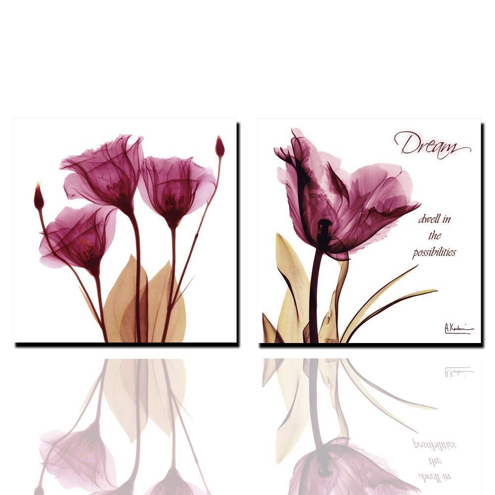 3 Pedazos de Arte la de la Arte Pared de la impresión de la Lona Floral, impresión de la Lona, Imagen de HD Pared Arte Lienzo Artista Living decoración Sala de Estar (sin Marco de Fotos) a0e786