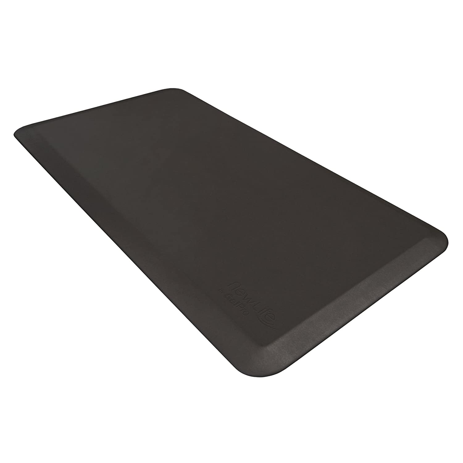 NewLife Eco-Pro by GelPro Stand Desk and Work Floor Mat, 20x48 Black by NewLife by GelPro   B008N6WW22