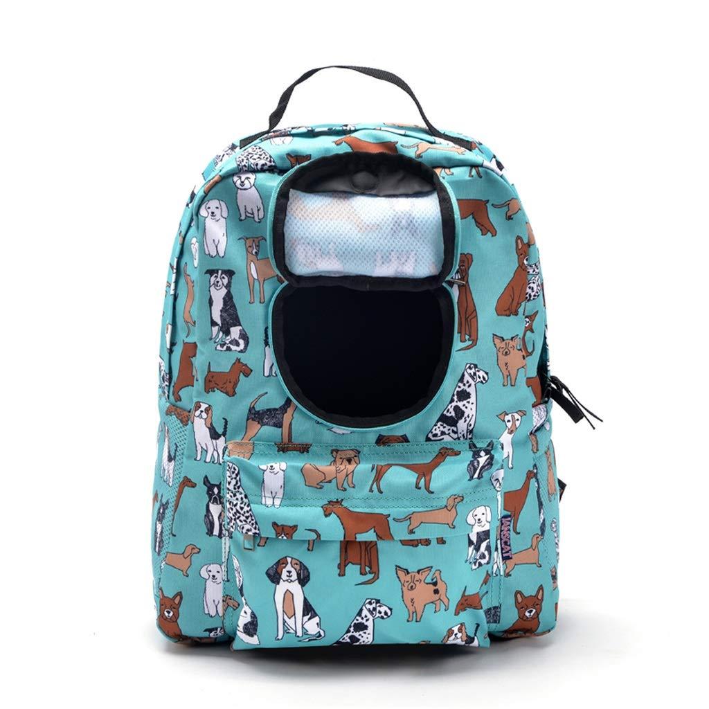 MXD Cat Bag Dog Bag Pet Shoulders Out Carrying Bag Cat Backpack Dog Backpack
