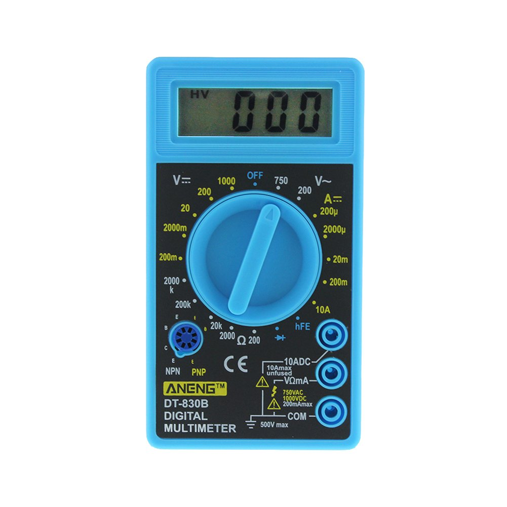 prettygood7 Dt-830b multimè tre Digital LCD AC/DC 750/1000 V Amp Volt Ohm testeur Mè tre