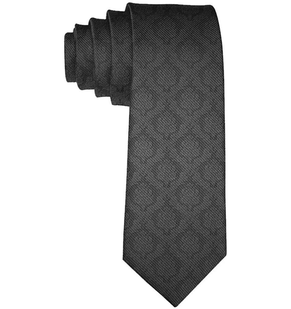 Corbata negra elegante de la textura de los hombres Corbatas de la ...