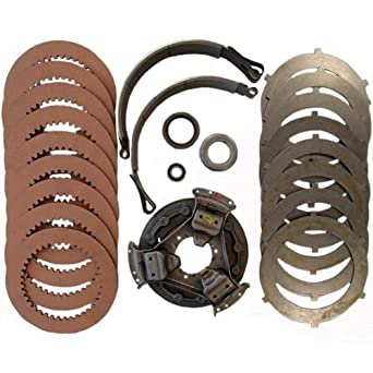 Amazon.com: New Complete Steering Clutch Kit Made to Fit John Deere Crawler/Dozer 450B: Industrial & Scientific