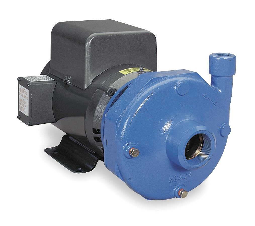 Centrifugal Pump 5hp 208-230V GOULDS WATER TECHNOLOGY 4BF1J1H0 1-Ph