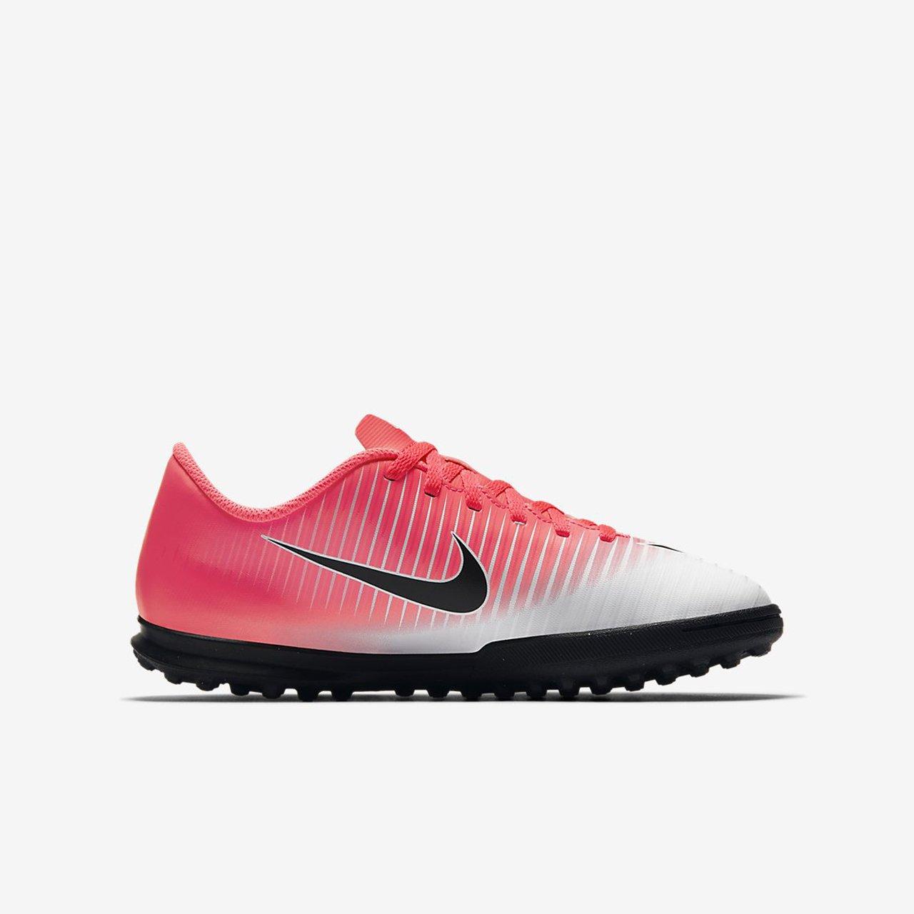 new product c9cf6 3de60 Nike Unisex Adults  Mercurial X Vortex Iii Tf Jr 831954 601 Trainers Pink   Amazon.co.uk  Shoes   Bags