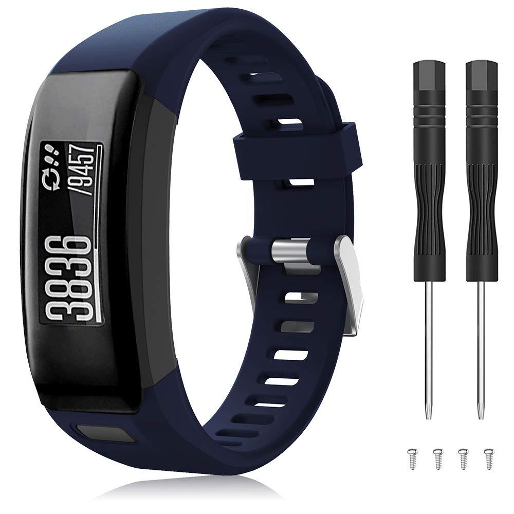 Malla de repuesto para reloj Garmin Vivosmart HR (azul)