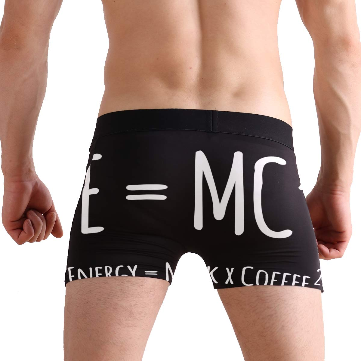 Mens Underwear Mathematical Algorithm Boys Boxer Brief