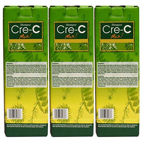 Shampoo Cre-C 3 pack 8.45 oz