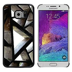 iKiki Tech / Estuche rígido - Building Architecture Polygon Engineering - Samsung Galaxy S6 EDGE SM-G925