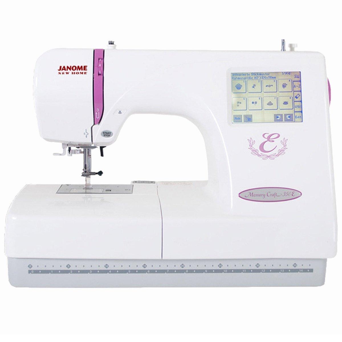 Memory Craft Embroidery Machine Janome 350E