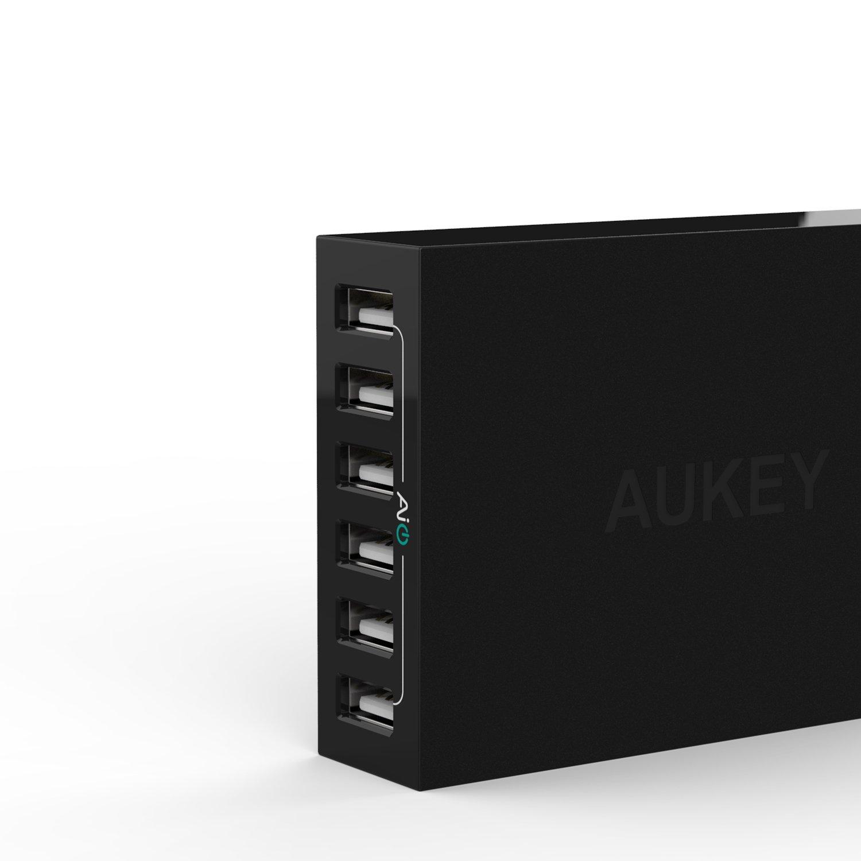 AUKEY Chargeur secteur USB Multi ports - 6 Ports USB - Technologie de  AiPower - 1.5m  Amazon.fr  Informatique d635590371ea